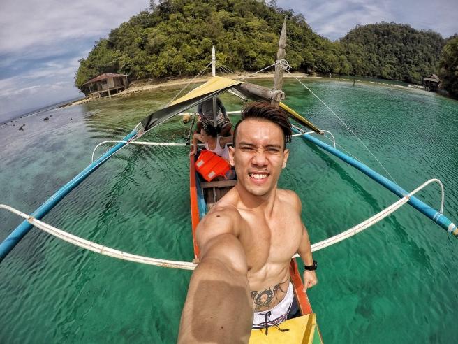 At Tiktikan Lagoon again.